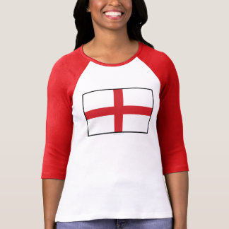 England Plain Flag T-Shirt