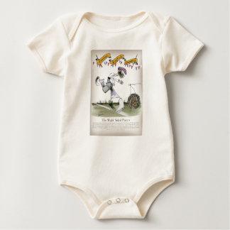 england right wing footballer baby bodysuit