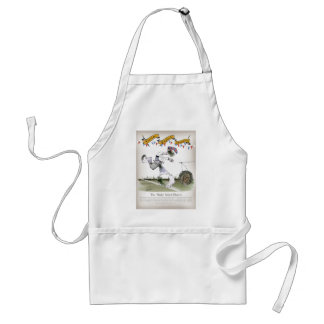 england right wing footballer standard apron