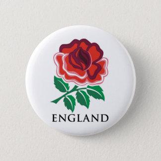 England Rugby 2 Inch Round Button