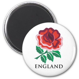 England Rugby 2 Inch Round Magnet