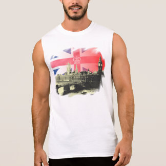 England Sleeveless Shirt
