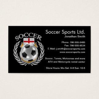 England Soccer 2016 Fan Gear Business Card