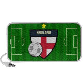 England Soccer Flag Football Mp3 Speakers