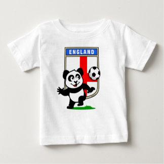 England Soccer Panda (light shirts) Baby T-Shirt
