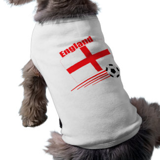 England Soccer Team Shirt