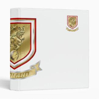 England Soccer Vinyl Binder