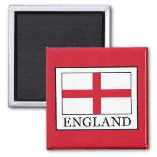 England Square Magnet