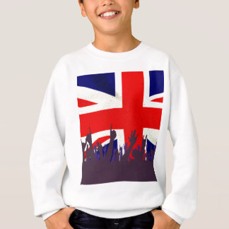 England State Flag with Audience Sweatshirt