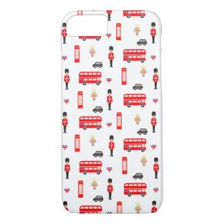 England Symbols Pattern Case-Mate iPhone Case