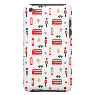 England Symbols Pattern Case-Mate iPod Touch Case