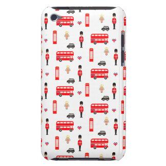 England Symbols Pattern iPod Touch Case