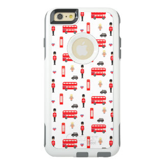 England Symbols Pattern OtterBox iPhone 6/6s Plus Case