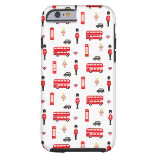 England Symbols Pattern Tough iPhone 6 Case