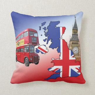 England tour throw pillow