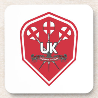 England Traditional Pub Games Coaster