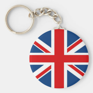 England Union Jack / British Flag Keychain