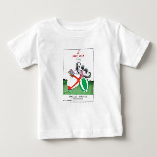 england v ireland rugby balls - from tony fernande baby T-Shirt