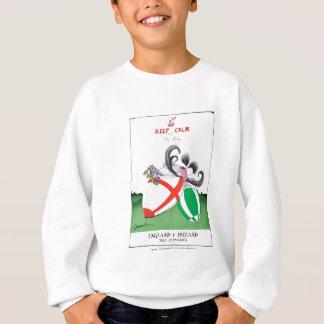 england v ireland rugby balls - from tony fernande sweatshirt