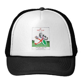 england v ireland rugby balls - from tony fernande trucker hat