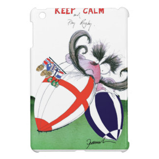 england v scoland rugby balls from tony fernandes iPad mini cover
