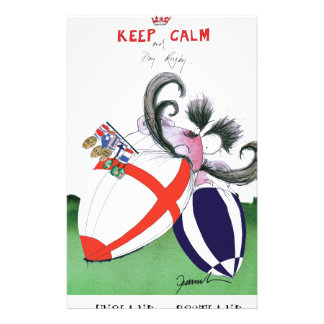 england v scoland rugby balls from tony fernandes stationery design