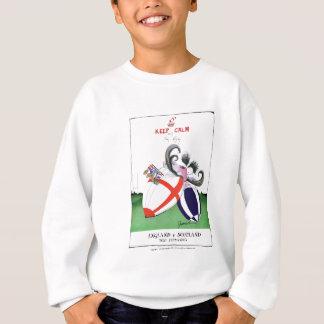 england v scoland rugby balls from tony fernandes sweatshirt