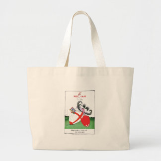 england v wales rugby balls from tony fernandes large tote bag