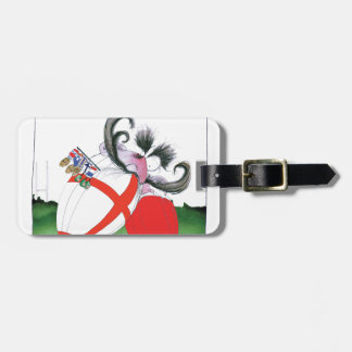 england v wales rugby balls from tony fernandes luggage tag