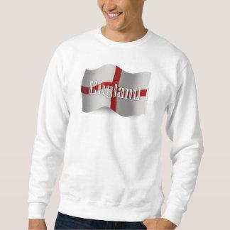 England Waving Flag Sweatshirt