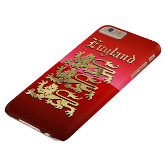 England's Coat of Arms Barely There iPhone 6 Plus Case