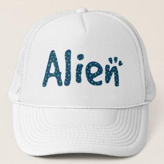English ALIEN in Stars Trucker Hat