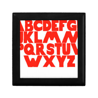 English Alphabet Gift Box