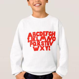 English Alphabet Sweatshirt