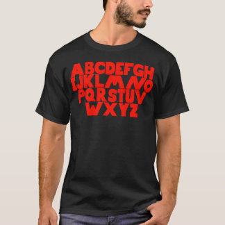 English Alphabet T-Shirt