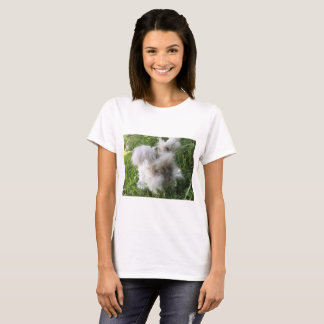 English Angora Rabbit T-Shirt - Bradley