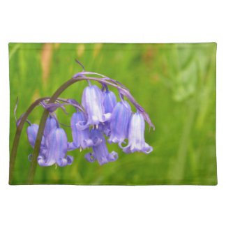 English Bluebell Flower Placemat