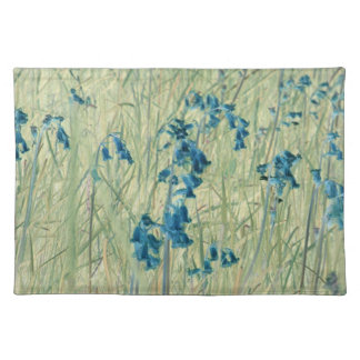 English bluebells placemats