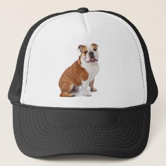 English British Bulldog Trucker Hat