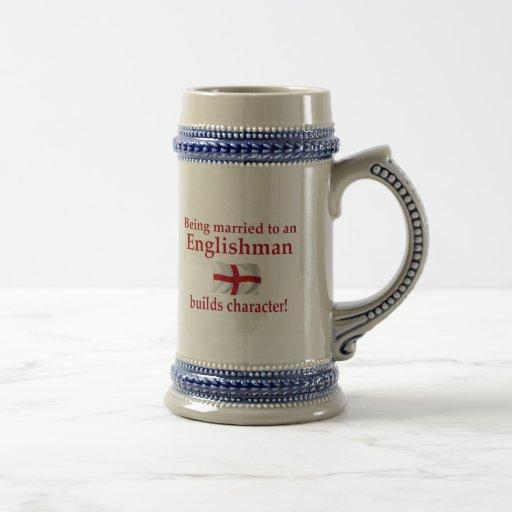 English Builds Character Coffee Mugs