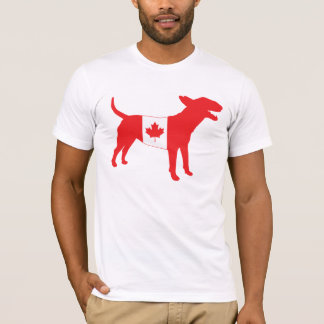 English Bull Terrier / Canadian Flag Tee