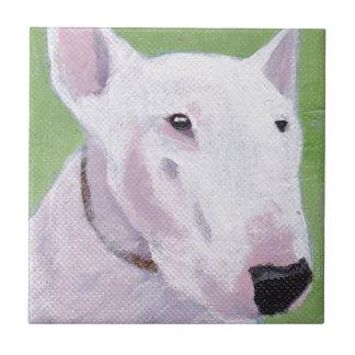 English Bull Terrier Ceramic Tiles