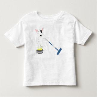 English Bull Terrier Curling Toddler T-shirt
