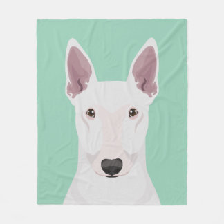 English Bull Terrier Fleece Blanket