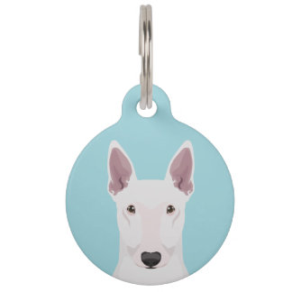 English Bull Terrier Pet Name Tag