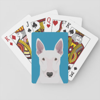 English Bull Terrier Playing Cards