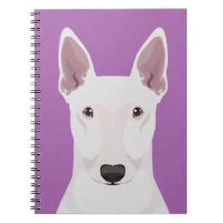 English Bull Terrier Spiral Notebook
