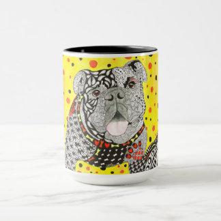 English Bulldog 15 oz Mug (Customizable)