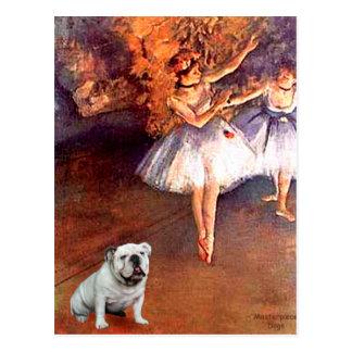 English Bulldog 9 - Two Dancers Post Cards