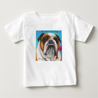 English Bulldog Baby T-Shirt
